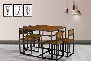 WestWood-Compact-Table-a-Manger-Cuisine-Et-4-Chaises-Espace-Economie-Set-Maison