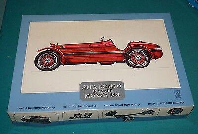 1931 Alfa Romeo 8C-2300 Monza Pocher 1/8 Complete Kit GUARANTEED !
