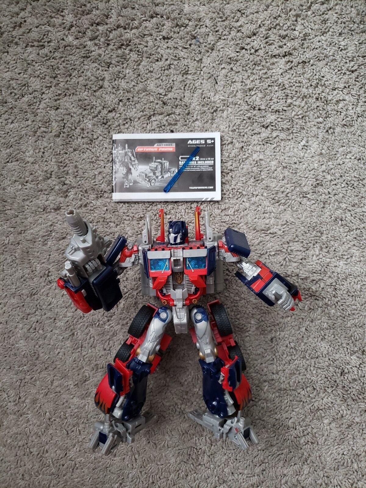 Hasbro Transformers Optimus Prime Prime Prime Autobot Action Figure 41f693