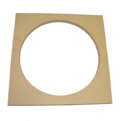 """2 - 10"""" Speaker Subwoofer Box Enclosure Mounting Spacer Rings For Mounting Depth"""