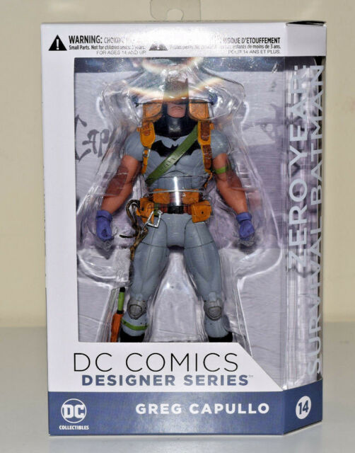 DC Comics Batman Survival Gear Designer Series Greg Capullo Zero Year Figure NEW