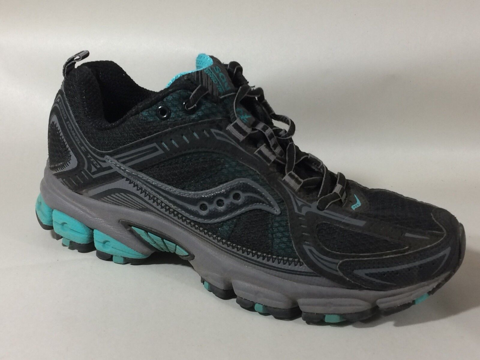 Saucony Grid Ramble TR3 Womens 7.5 M Running shoes shoes shoes Sneaker S15230 Black Teal bluee dafdd0