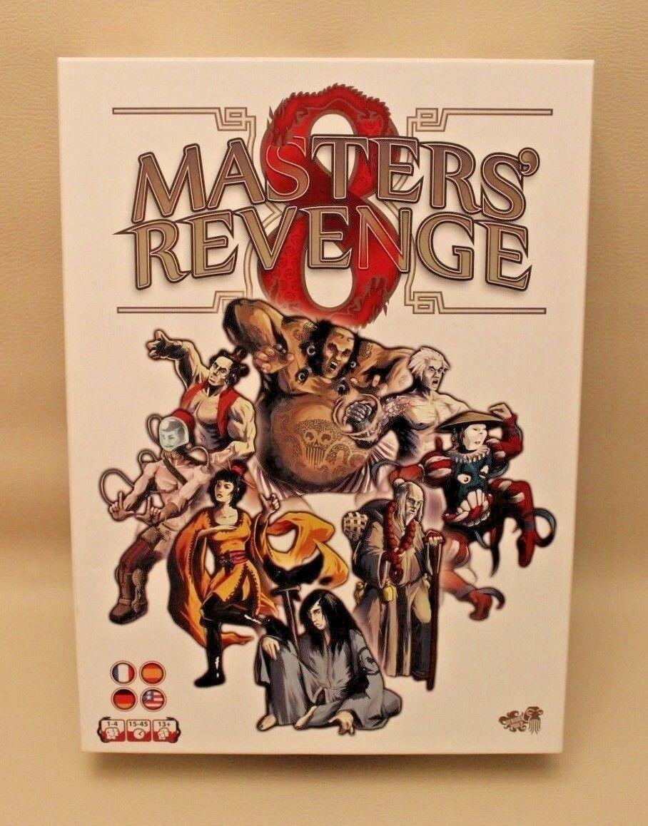 Rare   Jeu de société   de rôle - 8 Masters Revenge