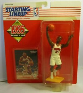 1995  CLARENCE WEATHERSPOON Starting lineup Basketball Figure & Card - 76ERS