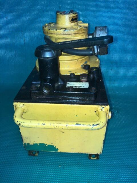 Enerpac PAM9208 Air Operated Hydraulic Pump Power Pack 700 BAR 10000 PSI