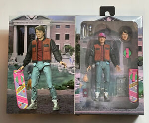 """Back To The Future Part 2 - 7"""" Scale Action Figure - Ultimate Marty McFly NECA"""