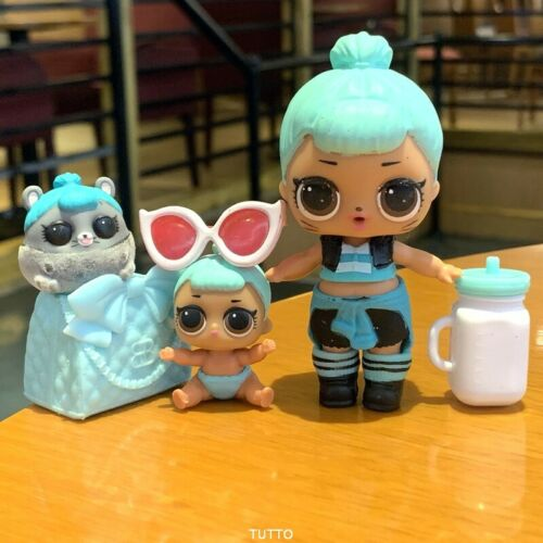 TROUBLEMAKER /& her Ultra Rare pet Lot of 3. Lol Surprise Dolls