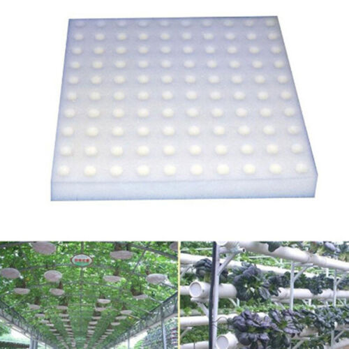 100 Pcs Soilless Hydroponic Vegetables Nursery Pots Nursery Sponge Cu FEHWFLO