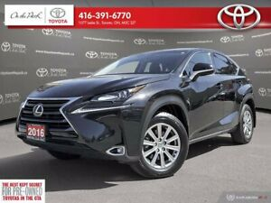 2016 Lexus NX 200t AWD Leather 1 Owner Low Km's !