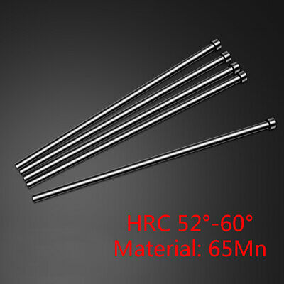2mm OD 2*150mm 65Mn HRC60 Round Tip Plastic Injection Mold Ejector Pin 24pcs
