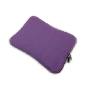 Purple-10-Soft-Neoprene-Bone-Case-for-ARCHOS-101-iPad-2-3-Netbook-PC-other-Tab