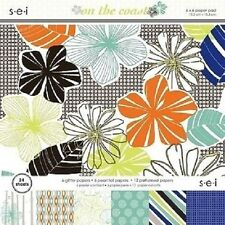 """s.e.i ON THE COAST Paper Pad / Stack 6""""x 6"""" 24 sheets CLEARANCE PRICE"""
