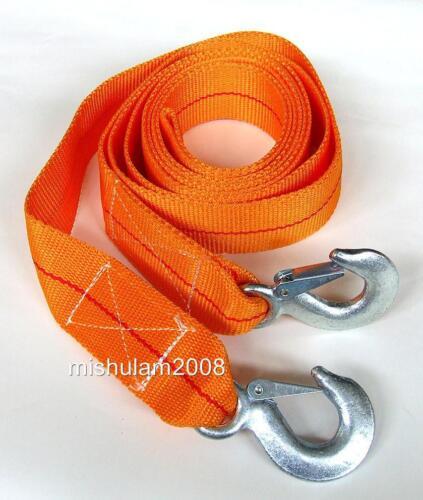 Abschleppseil 5000kg 5T mit 2 Haken Schleppseil Abschlepphilfe Zugseil Seil