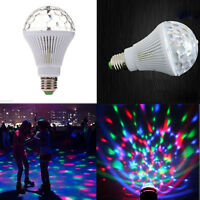 E27 RGB LED Discokugel 3W DJ Disco Party Glühbirne Glühlampe Lichteffekt Leuchte