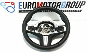 BMW-M-SPORTS-Volant-de-Direction-en-Cuir-5-039-G30-G31