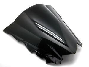 Black-ABS-Bubble-Windscreen-Windshield-Shield-for-Yamaha-YZF-R3-2015-2016-2017