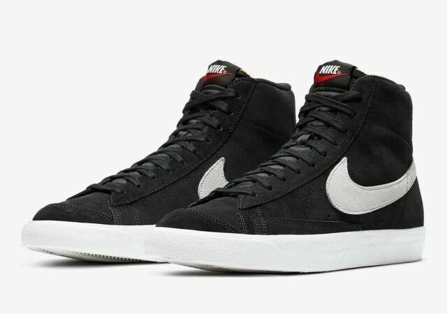Size 10 - Nike Blazer Mid 77 Suede Black for sale online   eBay