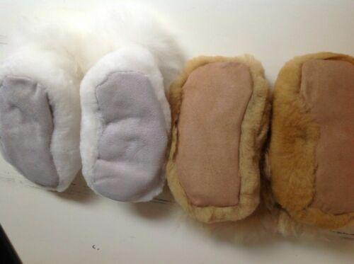 Restoration Hardware Handcrafted Premium Alpaca /&Shearling Kids/' Slippers  SMALL