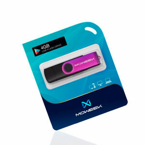 Moweek-Multifunktionale-USB-Stick-4-gb-4gb-usb-stick-Pendrive-VIOLA-NERO-NUOVO