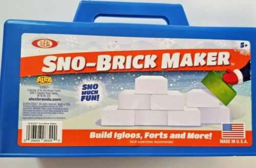 Ideal Sno-Brick Maker Igloo Mold Blue