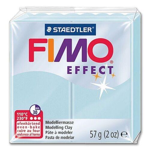 3,42€//100 g Fimo Effect 306 eiskristallblau ofenhärtende Modelliermasse 57g
