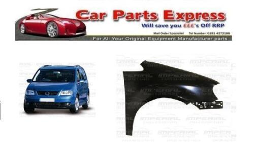 PAINTED ANY COLOUR RIGHT FRONT WING VOLKSWAGEN TOURAN 20003-2006 O//S