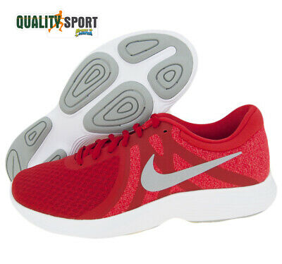 Nike Revolution 4 Eu Rouge Homme Chaussures Sport Running Gym AJ3490 601 2019   eBay