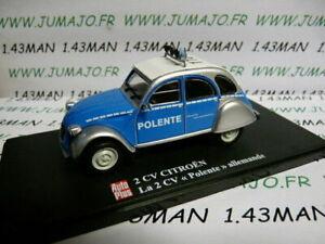 2CVAP52G-1-43-ELIGOR-Autoplus-CITROEN-2CV-Polente-Polizei-allemand
