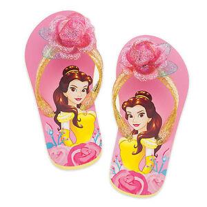 11//12 Disney Toddler Girls Rapunzel Flip Flop Sandals Shoes SZ 9//10