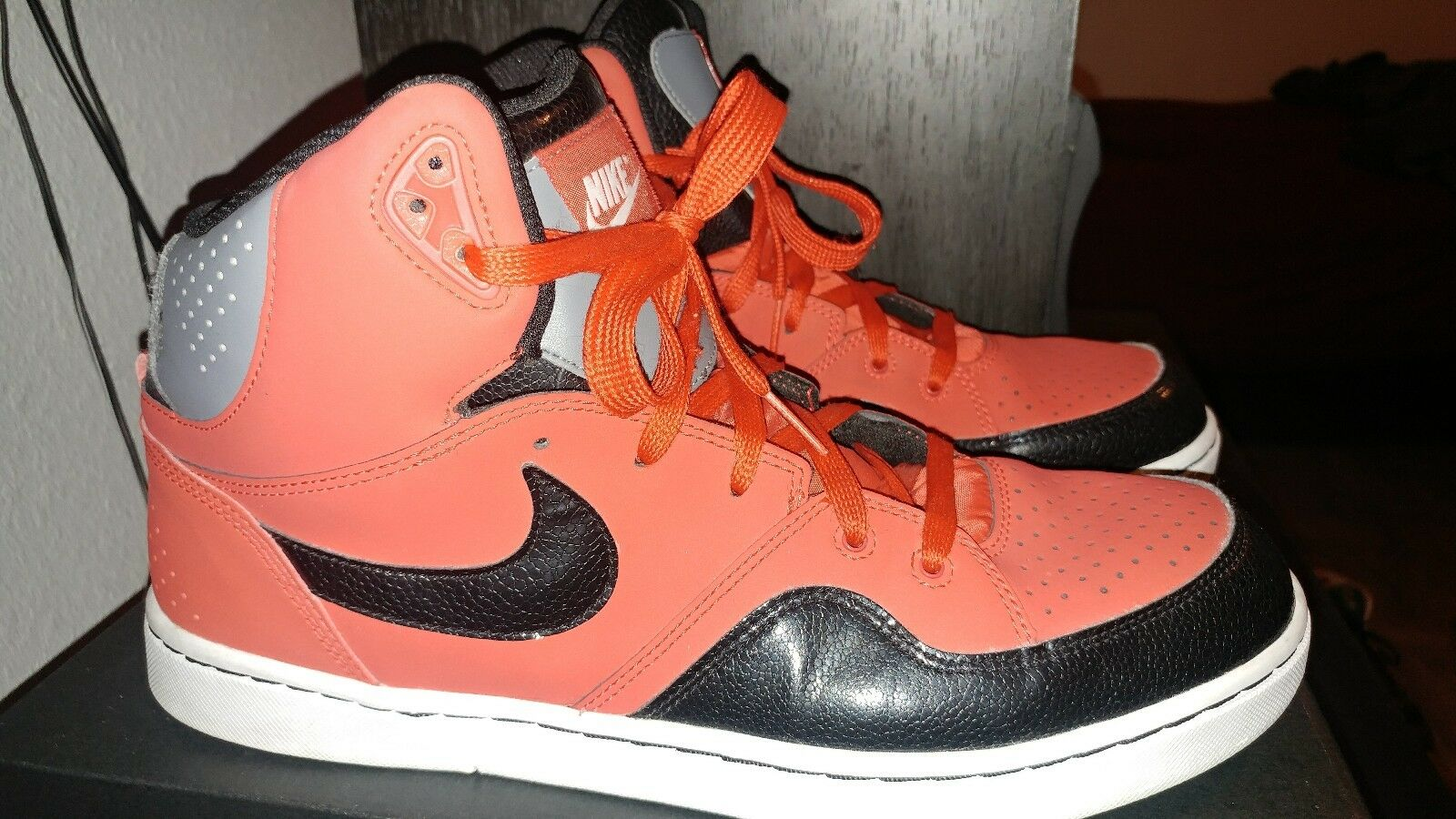 Nike Court Tranxition Red Size High Top Shoes Men's Size Red 11.5 f3ae69