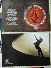 VOLCOM surf skateboard 2009 RUNE GLIFBERG 2 SIDED POSTER ~MINT CONDITION~!