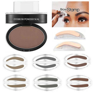 eyebrow powder. image is loading fashion-eyebrow-powder-makeup-brow-stamp-palette-delicated- eyebrow powder a