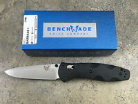 Benchmade 580 Barrage Osborne Assist Folding Pocket Knife Plain Edge