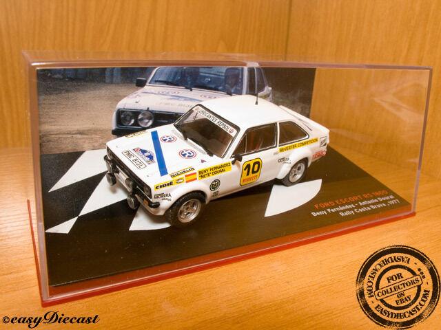 FORD ESCORT RS 1800 BENY FERNANDEZ 1 43 COSTA BRAVA '77