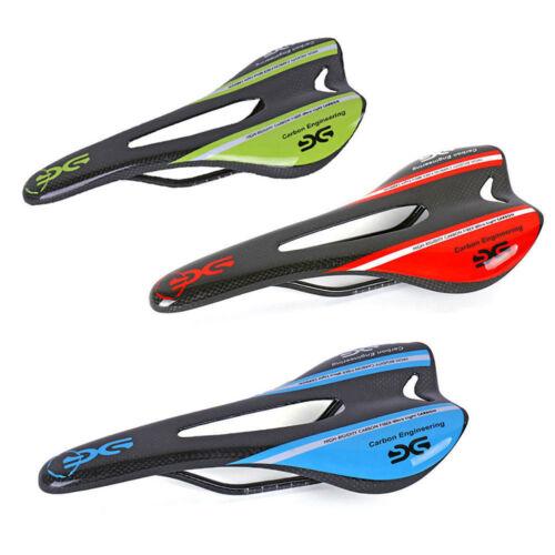 Mountain Bike Saddles Carbon Fiber 3K Racing Saddle MTB Seat Bicycle Cushion