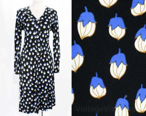Size 10 1970s Dress - Long Sleeved 70s Shirtdress