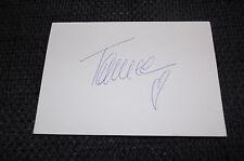 TAMEE HARRISON signed Autogramm auf 10x15 cm Karteikarte InPerson LOOK