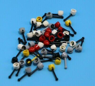 LEGO Lot of 50 Mini Antenna Bricks Minifigure Accessories Parts Pieces
