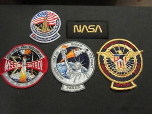 NASA-Program-Patches-Lot-of-5-Different-nasa-4