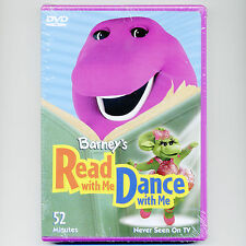 Barney's Read With Me Dance With Me, new DVD children's educational songs music