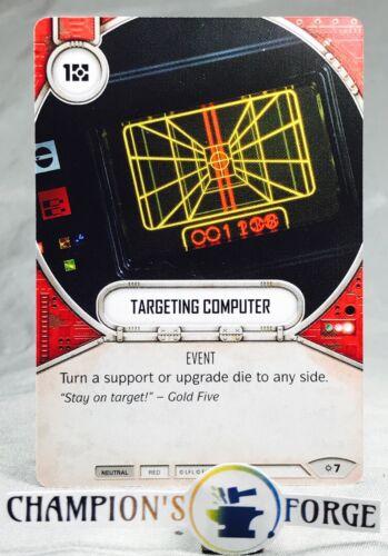 Star Wars Destiny Rivals Set Targeting Computer #7 Common