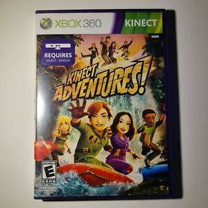 Kinect Adventures! Microsoft Xbox 360 Kinect 2010 Complete E Tested/Working
