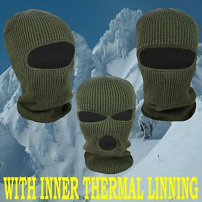 WARM WINTER SAS STYLE BALACLAVA ARMY CHUNKY SKI HAT BIKER NECK WARMER MASK