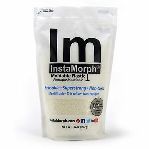InstaMorph Moldable Plastic - 32 oz