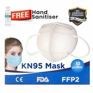 KN95 N95 Face Mask Disposable Masks Reusable Filter 10 pcs