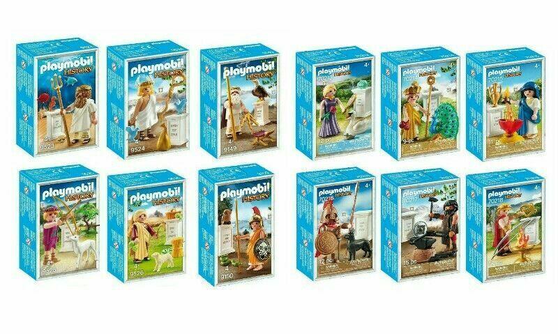 Playmobil Greek Gods 9149 9150 9523 9524 9525 9526 70213  70214 215 216 217 218  fino al 50% di sconto