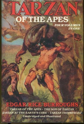 Tarzan of the Apes by Edgar Rice Burroughs (1988, Hardcover) for sale  online | eBay
