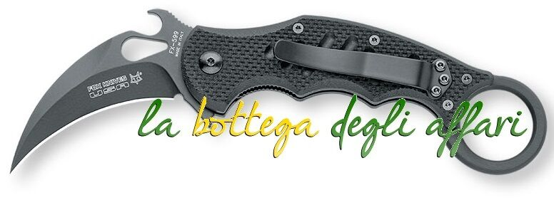 Coltello militare softair caccia MANIAGO FKMD Fox Folding karambit FX‐599