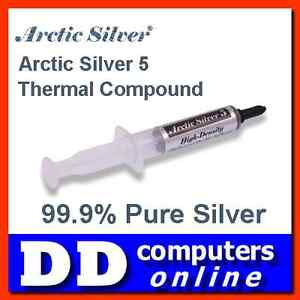 Arctic-Silver-5-Thermal-Compound-12g-Cooling-Paste-for-CPU-Chipsets-VGA-etc