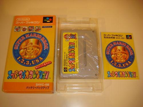 Super Mario Collection Nintendo Super Famicom Japan